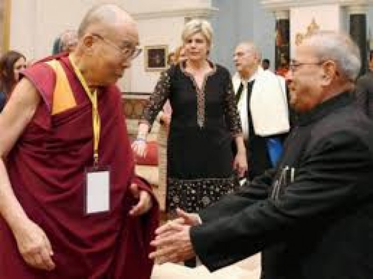 China sees red as Dalai Lama attends official event in India