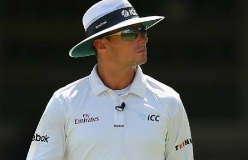 Umpire Kettleborough to miss 3rd day's play