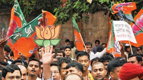 BJP wins in Bengal border areas with high Muslim population