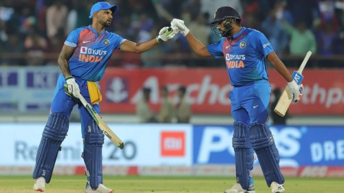 India go past Australia to record 41st win while chasing in T20Is