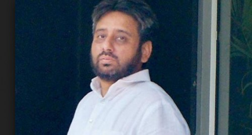 BJP asks AAP to expel its MLA Amanatullah Khan from party