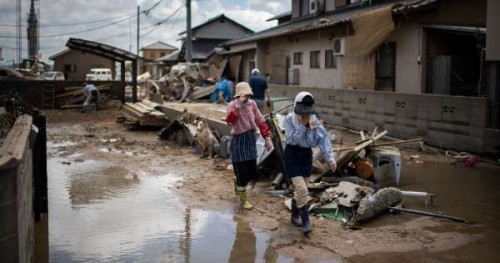 Death toll in Japan flood hits 179