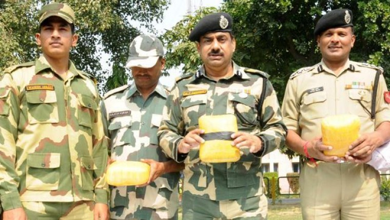 BSF recovers 8 kg heroin in Punjab