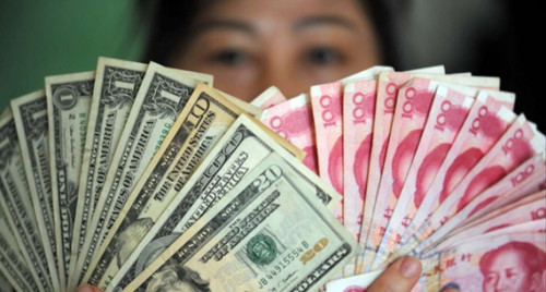 Chinese yuan strengthens against US dollar