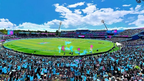 Edgbaston turns blue as ICC delivers 'One Day for Children' campaign