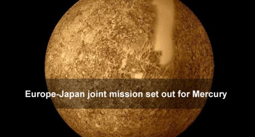 Europe-Japan joint mission set out for Mercury