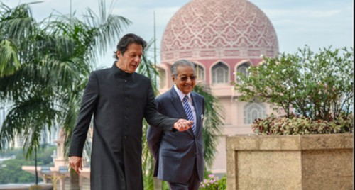 Imran meets Mahathir, regrets missing KL Summit