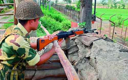 Militants attack J&K guard post