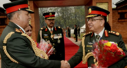 Nepal Army chief leaves for India visit