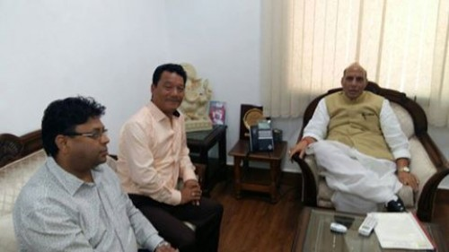 GJM leaders seek to meet Rajnath on Sunday over Gorkhaland separate state issue