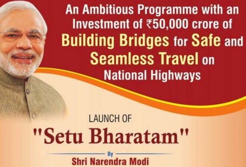 208 rail over bridges to be built under Setu Bharatam  programme