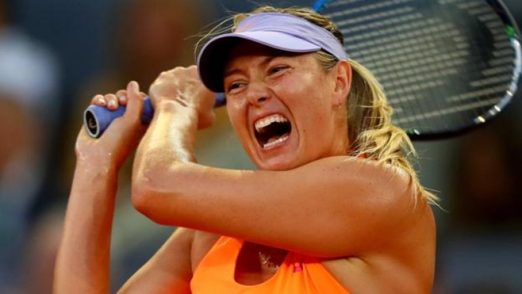 Sharapova advances at Italian Open