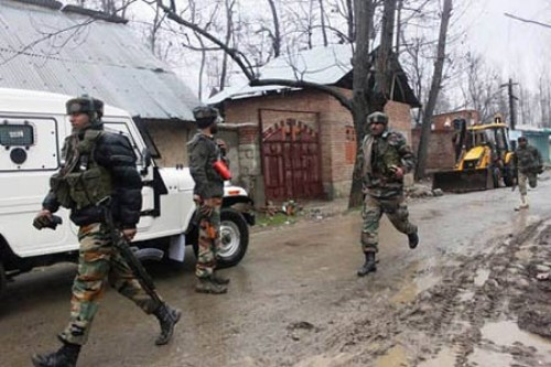 Two soldiers killed in on-going Shopian gunfight