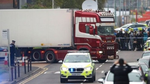 Police names all 39 Essex lorry victims