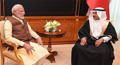 India, Bahrain speak out against countries backing terror