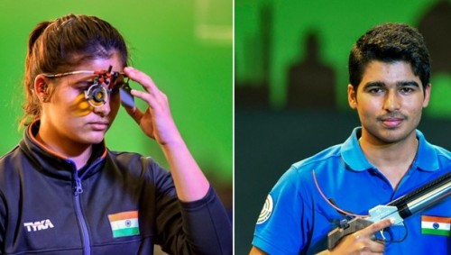 Manu, Saurabh shoot gold as India end ISSF World Cup on top