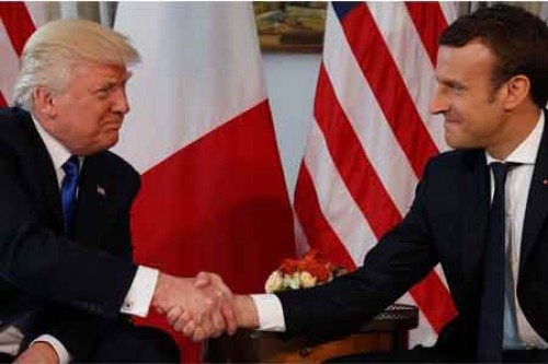 Macron hopes Trump would reverse decision on Paris accord