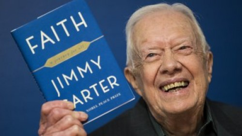Jimmy Carter chastises Trump: 'US most warlike nation in history'