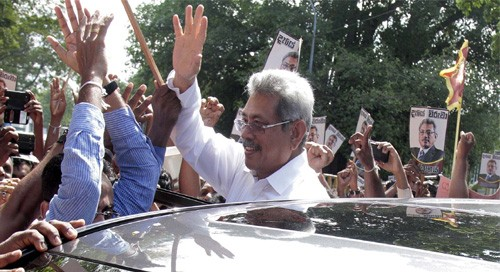 Gotabaya wins SL polls, but loses minorities