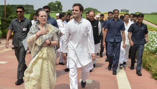 Tripura Congress slams removal of Gandhis' SPG cover