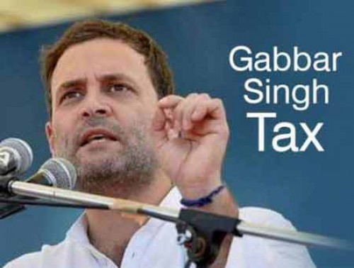 Congress to keep on its struggle for 18% GST cap : Rahul