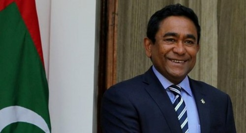 Yameen calls for peace, prosperity in Maldives