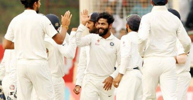 India in driver's seat after Ishant Sharma and Ravindra Jadeja took two wickets in a space of four balls