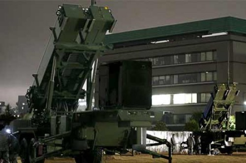 Japan installs anti-missile system
