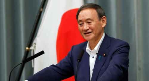 Yoshihide Suga elected as new leader of Japan's LDP