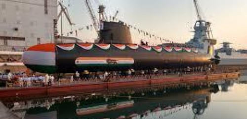 4th Scorpene class attack submarine launched in Mumbai