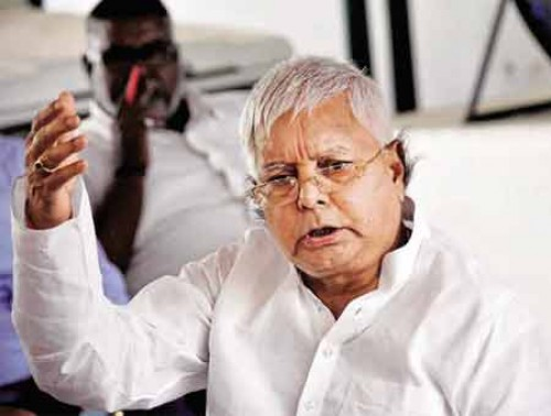 Lalu demands rollback of GST, Note Ban