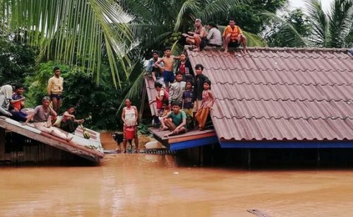 Toll rises to 26 in Laos dam collapse