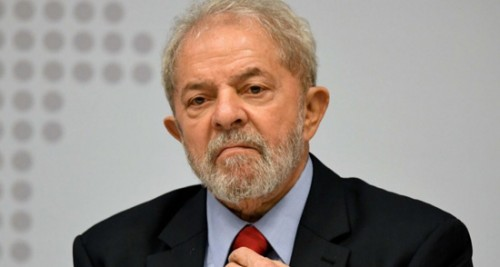 Brazil's Lula makes sports commentator debut in messages from prison