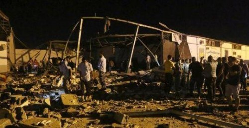 42 killed in air strike on Libyan town: Reports