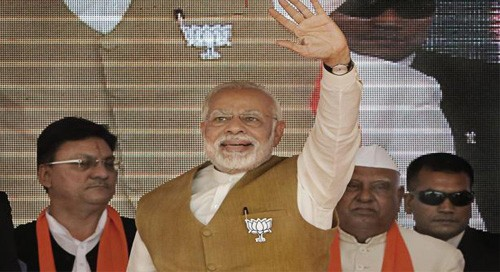 BJP will snatch victory from Congress' hands, says Modi