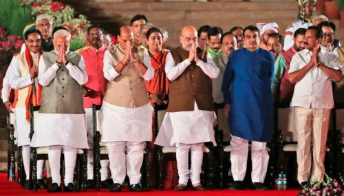 Shah part of all 8 Cabinet Committees, Rajnath in two