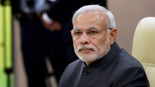 Modi walks to Opposition benches to greet them