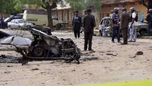 12 killed in Nigeria at suicide blasts