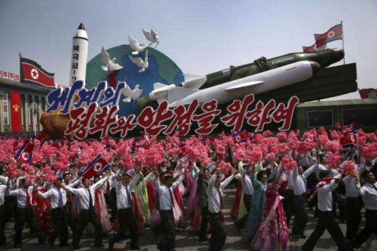 The scientists carnival behind the latest N.Korea missile launch