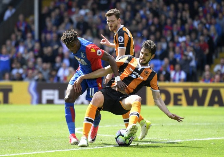 Crystal Palace beat Hull City 4-0 in EPL