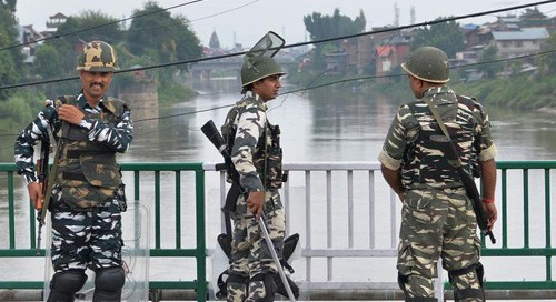 Centre now admits 'incident' of protest in Kashmir