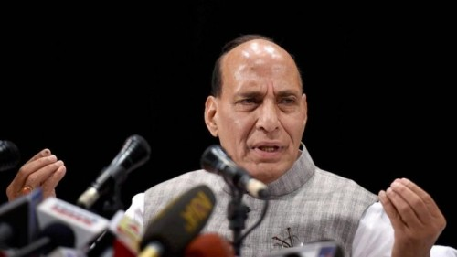 Security forces ready for any challenge: Rajnath