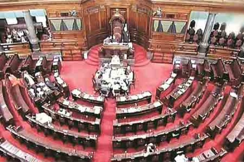 Rajya Sabha adjourned after paying tributes to departed members