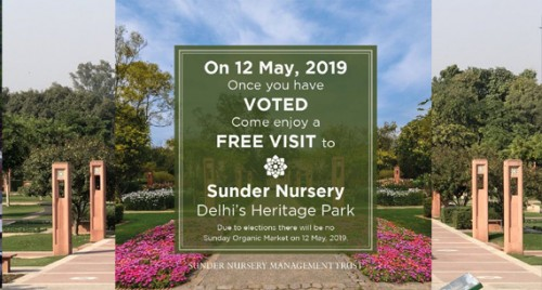 Enter Sunder Nursery with inked finger on May 12