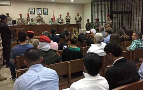 Jordanian soldier have life term for killing Americans