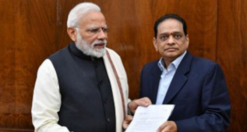 SPR Group chairman presented a memorandum to PM Modi on the issues of OBCs