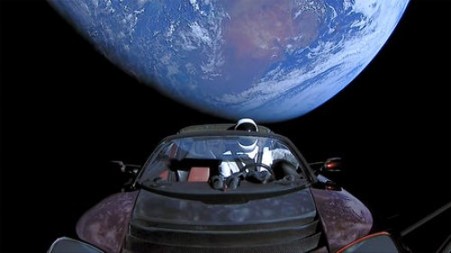 Russians mock Musk, sends toy car into space