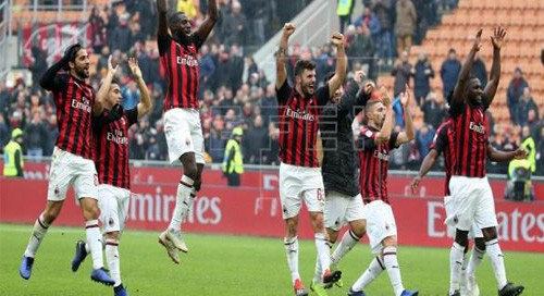 Milan rallies to defeat Parma 2-1 in Serie A