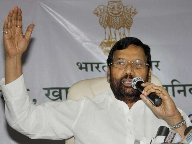 Ram Vilas Paswan rules out separate law to regulate MRP of packed items
