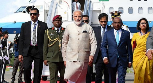 Maldives government confers 'Rule of Nishan Izzudheen' on Modi